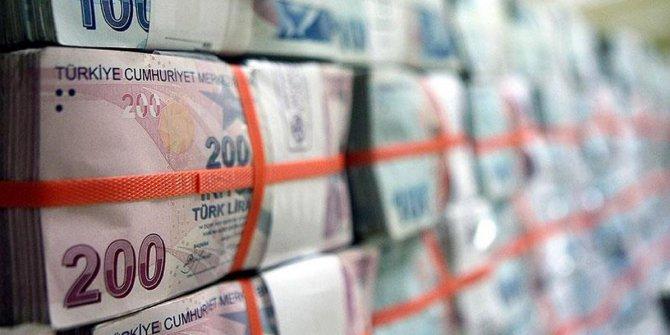 Hazine 3.34 milyar lira borçlandı