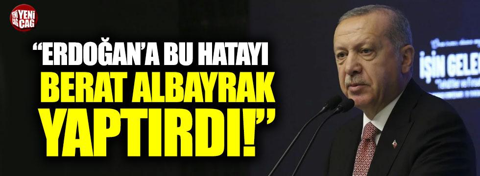 """Özgür Özel: """"Erdoğan'a bu hatayı Berat Albayrak yaptırdı"""""""