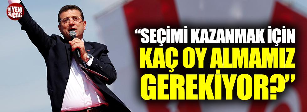 """CHP'li Karabat: """"Kazanmak için kaç oy almamız gerekiyor?"""""""