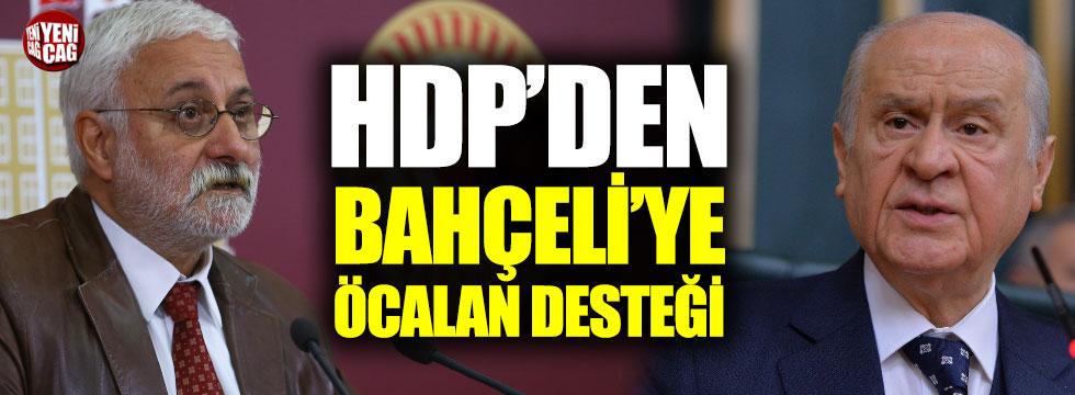 HDP'den Bahçeli'ye Öcalan desteği