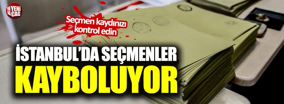İstanbul'da seçmenler kayboluyor!
