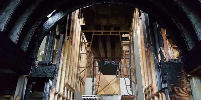 ABD'de Diyanet'e bağlı cami kundaklandı