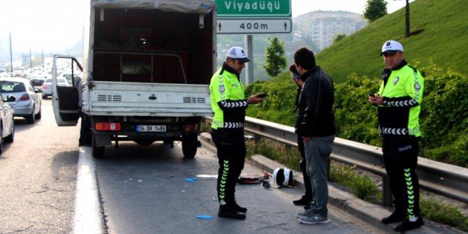 TEM'de korkunç kaza: 1 kişi öldü