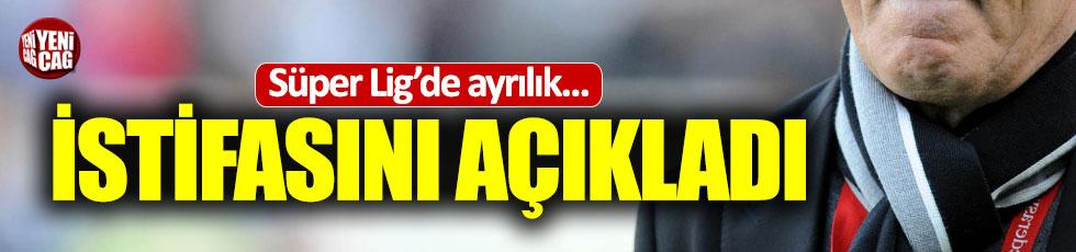 Mustafa Denizli Kasımpaşa'dan istifa etti