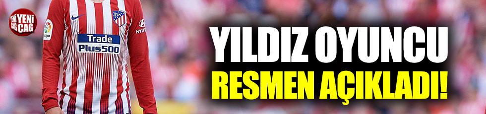 Griezmann, Atletico Madrid'e veda ediyor!