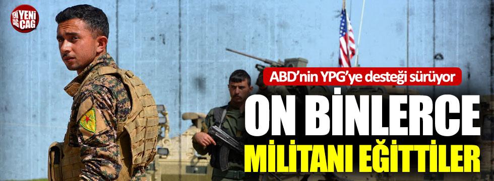 ABD'nin YPG'ye desteği sürüyor: DSG'yi eğitmeye devam ediyorlar