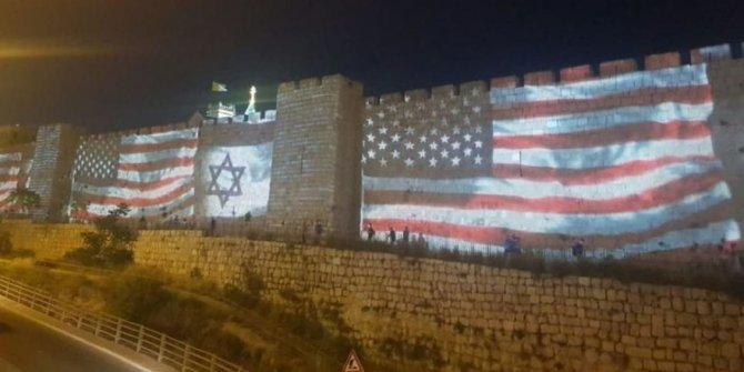 Kudüs'te tepki çeken görüntü