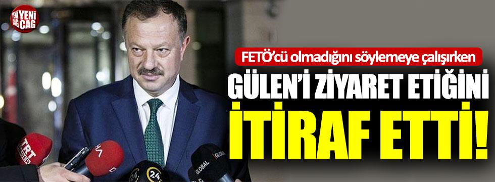 "Recep Özel'den dikkat çeken itiraf: ""Gülen'i ziyaret ettim"""