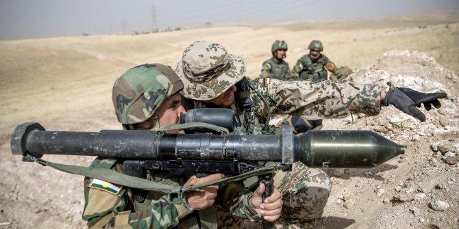 Almanya Irak'taki askeri faaliyetlerini askıya aldı
