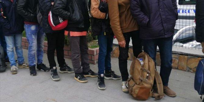 Edirne sınırında 565 kaçak göçmen yakalandı