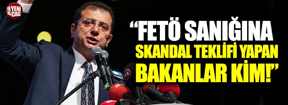 """Faik Öztrak: """"FETÖ sanığına skandal teklifi yapan bakanlar kim!"""""""
