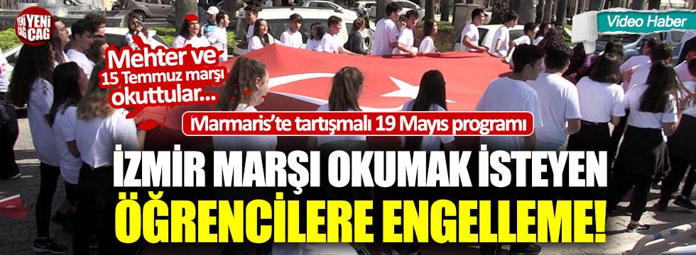 19 Mayıs programında İzmir Marşı tartışması