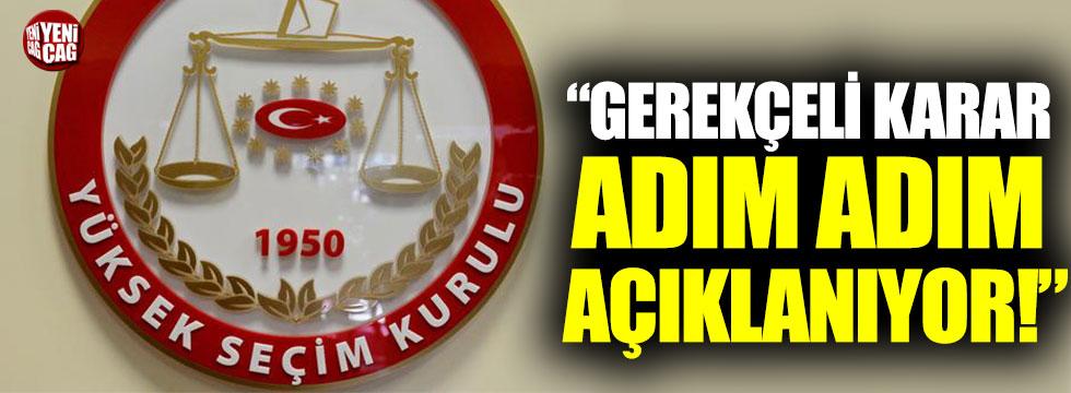"""Mustafa Balbay: """"YSK'nın gerekçeli kararı adım adım açıklanıyor"""""""