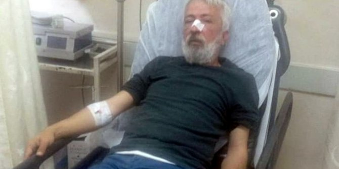 Gazeteci İdris Özyol saldırıya uğradı