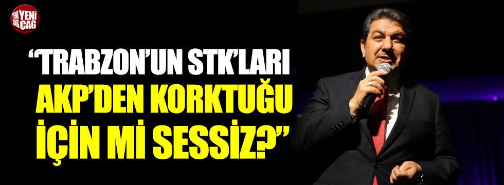"""İYİ Parti'li Erusta: """"Trabzon'un STK'ları AKP'den korktuğu için mi sessiz?"""""""