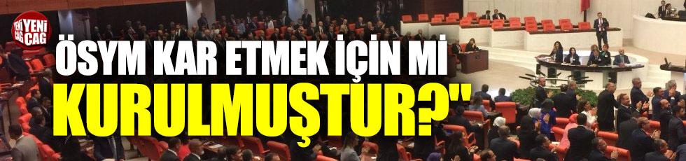 ÖSYM'nin yüksek sınav ücretleri Meclis'e taşındı