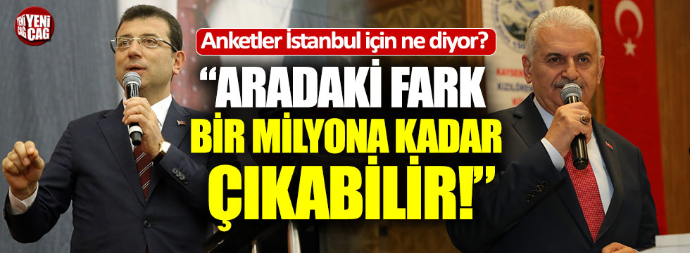 O anket şirketleri İstanbul için ne dedi?