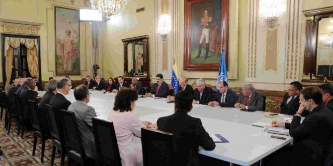 Venezuela'da muhalefet ve hükümet Oslo'da bir araya geldi