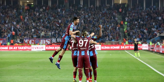 Trabzonspor fırtına gibi esti