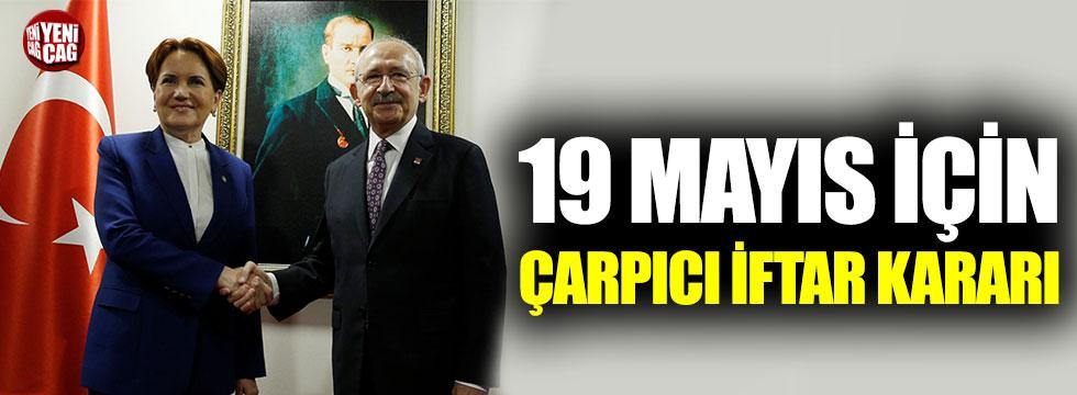 Akşener ve Kılıçdaroğlu Samsun'da halkla iftar yapacak
