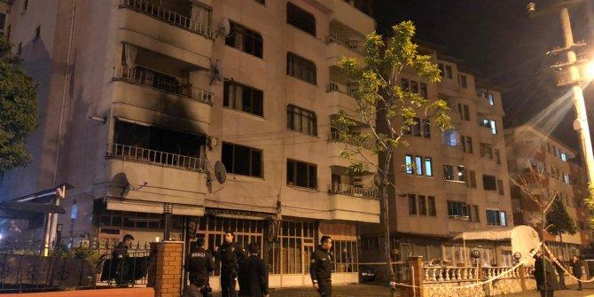 5 katlı apartmanda çıkan yangın korkuttu