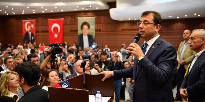 """""""İstanbul'un seçilmiş belediye başkanıyım"""""""