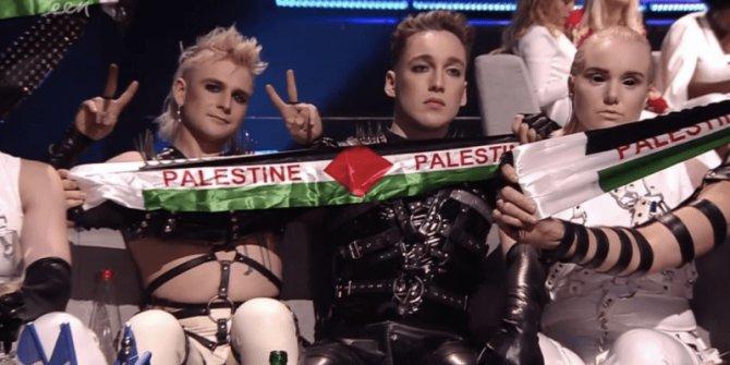 Eurovision 2019'a damga vuran Filistin detayı