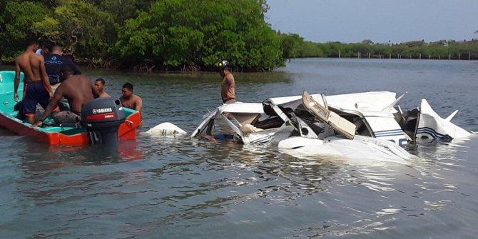 Honduras'ta uçak kazası: 5 ölü