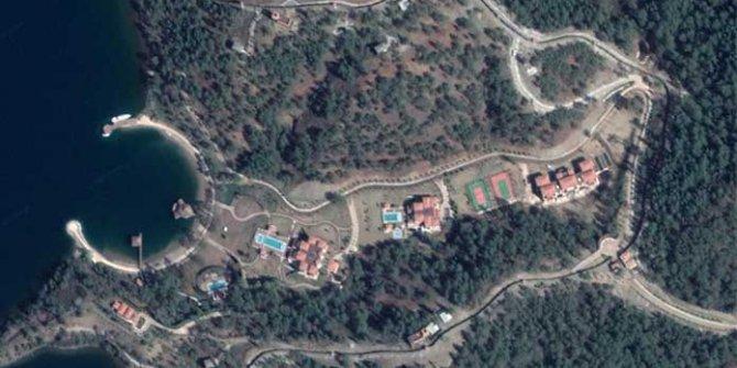 Erdoğan'ın 'yazlık sarayı' için havuzlu villalar yapıldı