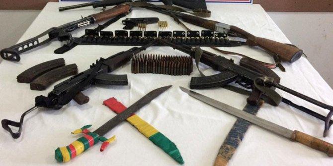 Diyarbakır'da jandarmadan silah kaçakçılarına darbe