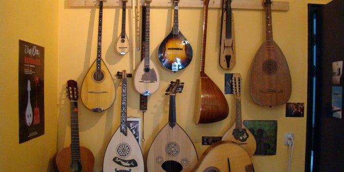 Dünyaca ünlü müzisyenler Türk enstrümanları kullanıyor