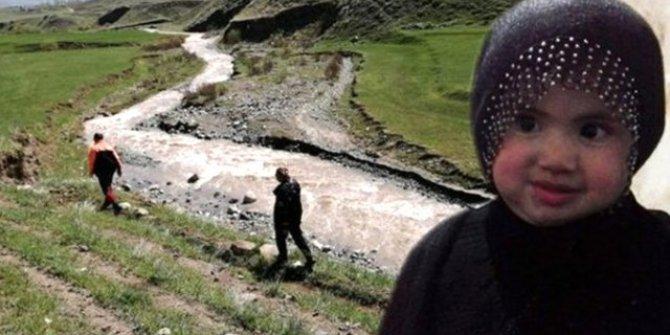 Kars'ta kaybolan 3 yaşındaki Nurcan'dan acı haber