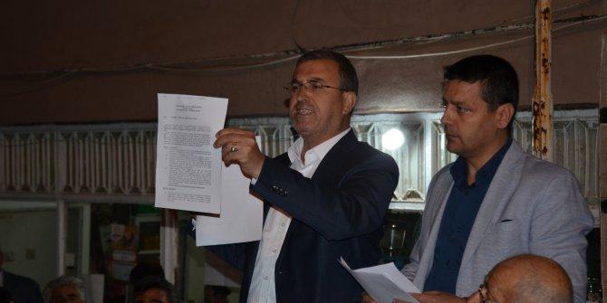 İYİ Partili Başkanın mazbatasının iptaline halk tepkisi