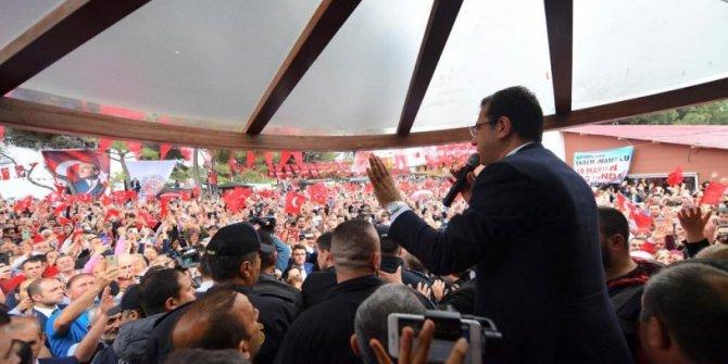 """Ekrem İmamoğlu: """"Tam bağımsız Türkiye'nin neferleriyiz"""""""