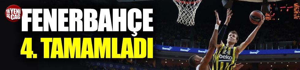 Fenerbahçe Euroleague'i dördüncü tamamladı
