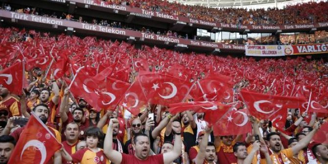 Türk Telekom Stadı'nda 19 Mayıs coşkusu