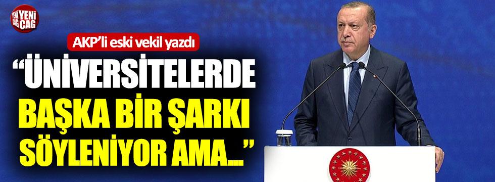 """Mehmet Ocaktan: """"Üniversitelerde başka bir şarkı söyleniyor ama…"""""""