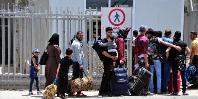 Suriyelilerin 'bayram ziyareti' başladı
