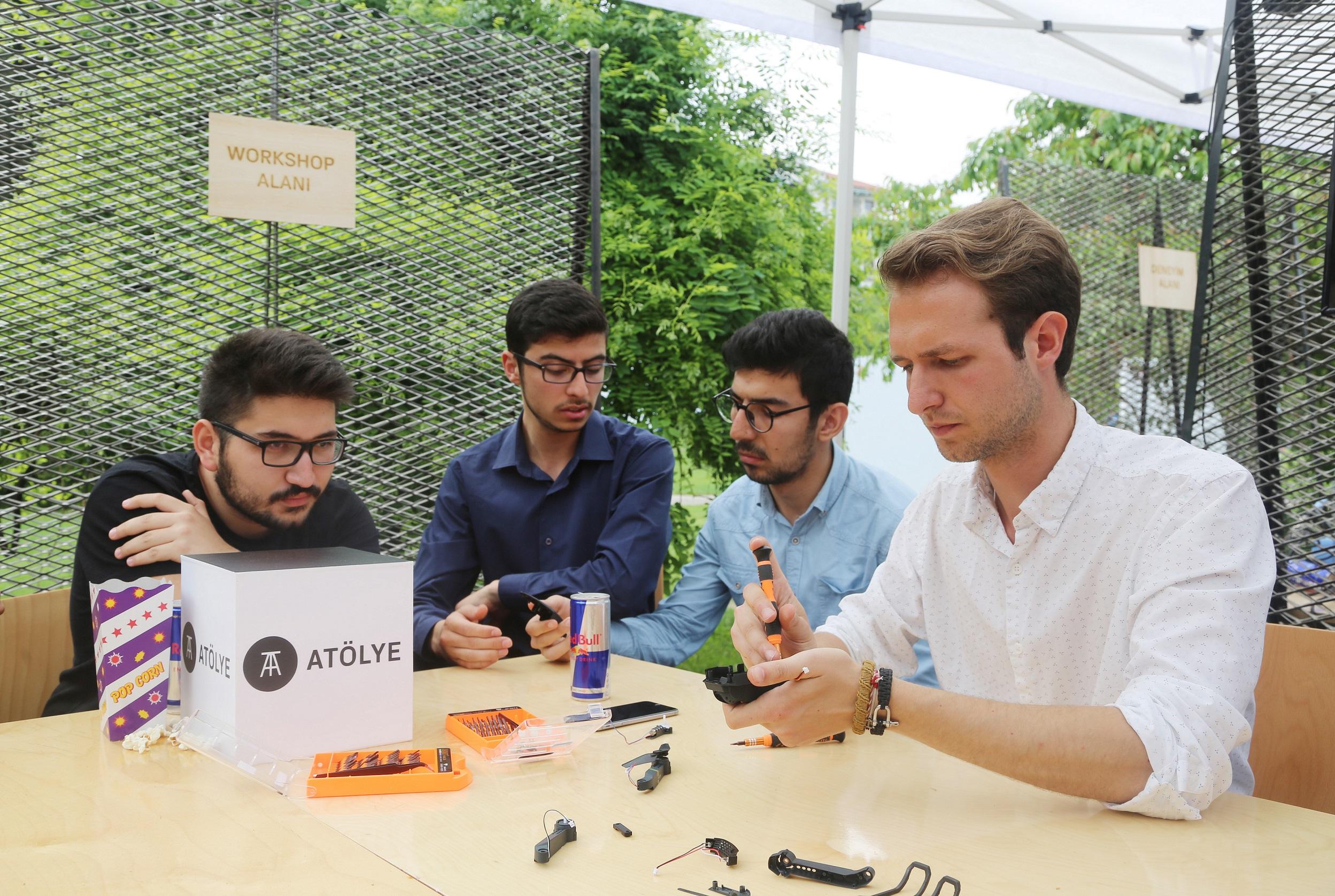 Genç girişimci adayları festivalde buluştu