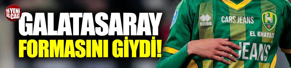 Khayati, Galatasaray formasını giydi