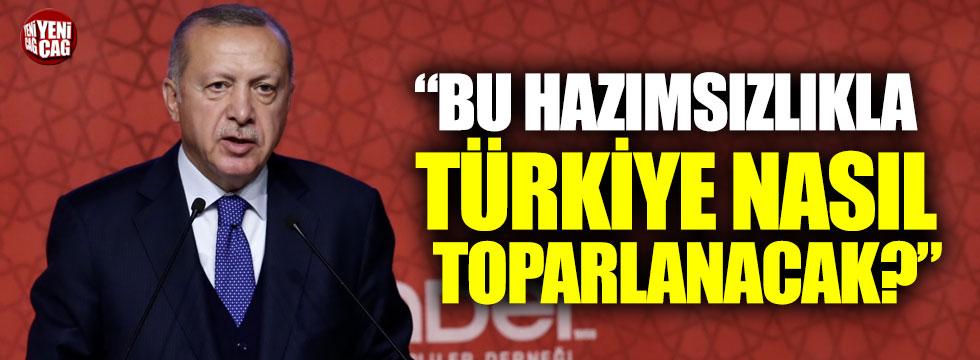 Erdoğan'a TÜSİAD tepkisi