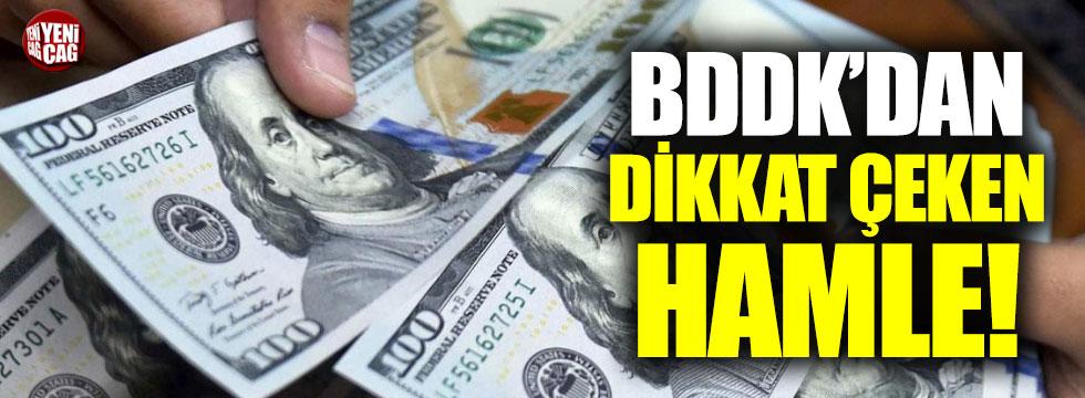 BDDK'dan döviz kararı