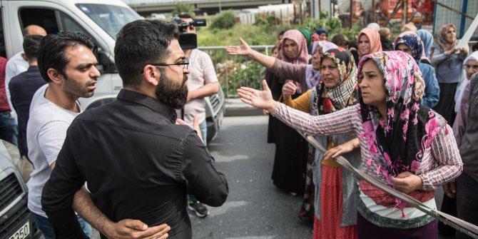 Başakşehir'de kadınlardan 'uyuşturucu' protestosu