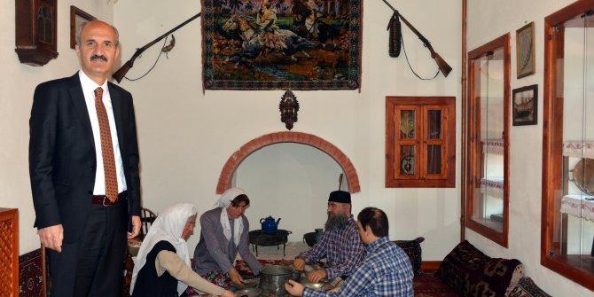 Kahramanmaraş'ın mutfak kültürü müzede yaşatılıyor