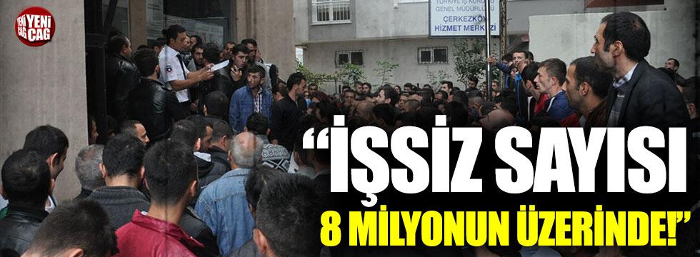 CHP'nin raporu: İşsiz sayısı 8 milyon 475 bin