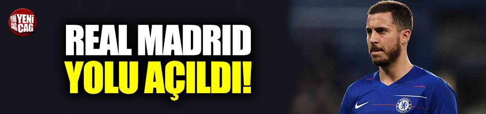 Hazard'a Real Madrid yolu açıldı