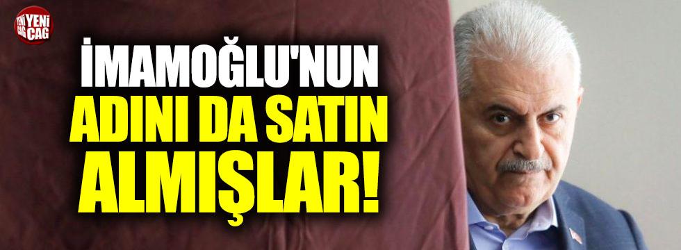 Yıldırım'ın ekibi Ekrem İmamoğlu'nun adını satın aldı iddiası