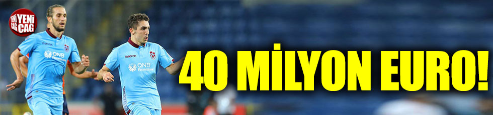 Trabzonspor'a 40 milyon euroluk piyango!