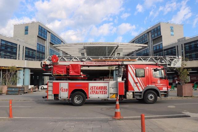 İstanbul Anadolu Adalet Sarayı'nda yangın