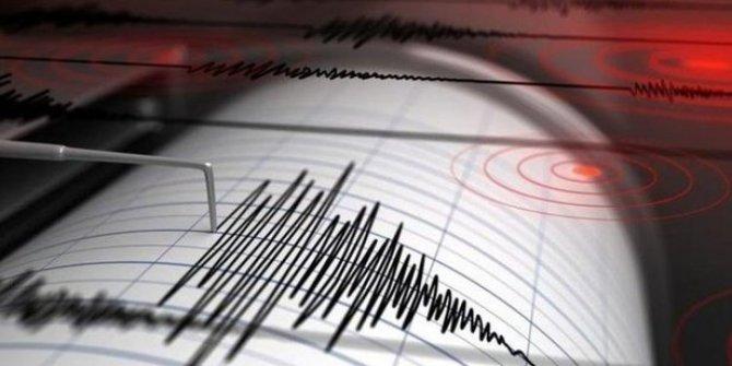 Erzincan'da deprem meydana geldi